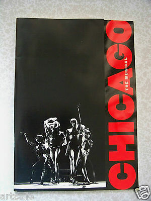 Programme CHICAGO the musical