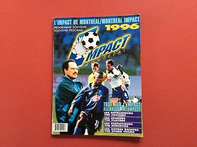 1996 Montreal Impact (Canada) programme (no match details)
