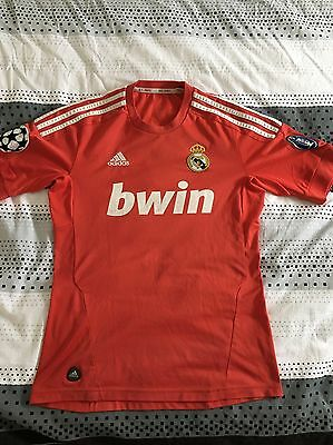 Maillot Rouge Real Madrid Ronaldo Taille S