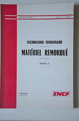 Chemins de Fer - Ancien document 1973 - Technologie ferroviaire