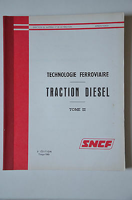 Chemins de Fer - Ancien document 1969 - Technologie ferroviaire
