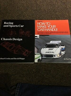 Racing And Sports Car Chassis Design Books