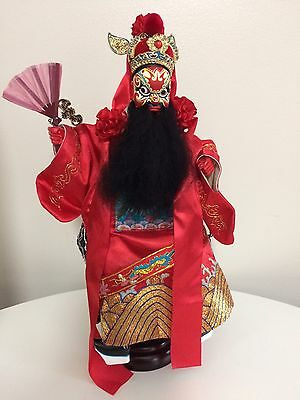 Oriental Hand Puppet With Stand
