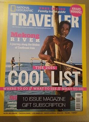 TRAVELLER National Geographic ~ Annual Magazine Subscription (RRP £30) 10 Issues