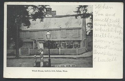 Witch House Salem Massachusetts Postcard