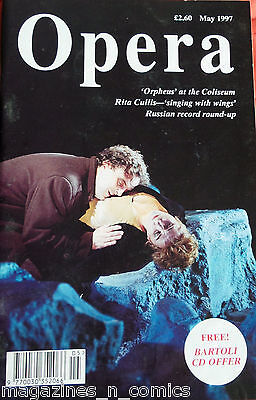 OPERA MAGAZINE, MAY 1997, ORPHEUS at COLISEUM, RITA CULLIS-SINGING WITH WINGS