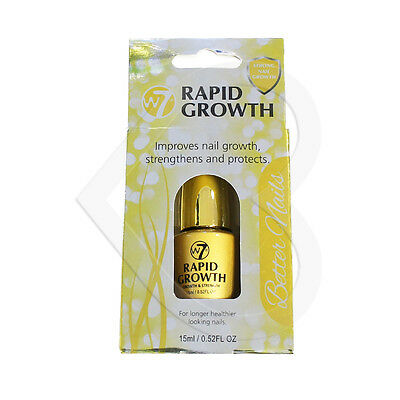 W7 Better Nails Nail Rapid Growth Nail Treatment 15ml Fast Growth & Strengthen