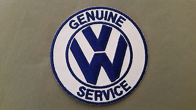 VW volkswagon genuine service embroidered patch
