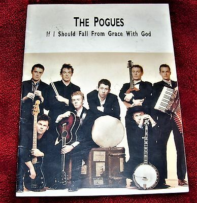 The Pogues If I Should Fall From Grace Tour Programme 1988  Shane Macgowan