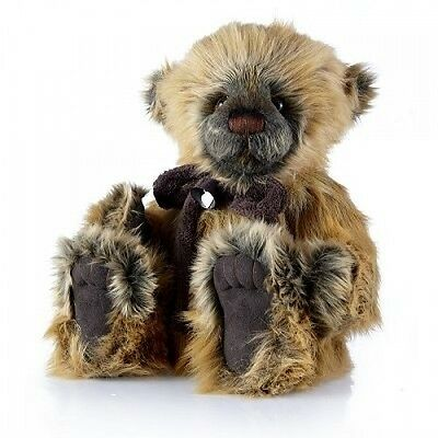 Bobby Dazzler - Teddy Bear Charlie Bears Fully Jointed Stuffed Animal