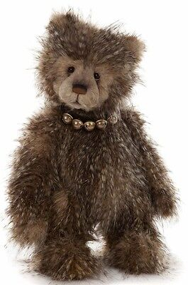 Scooby Teddy Bear Charlie Bears Jointed Standing Stuffed Animal Collectible