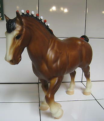 Bryer Clydesdale horse Nice Vintage Horse