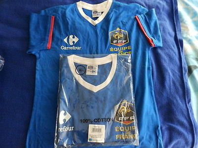 T shirt football Carrefour Equipe de FRANCE taille XL NEUF