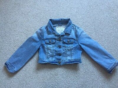 Denim Co Girls Cropped Denim Jacket Age 10 Years