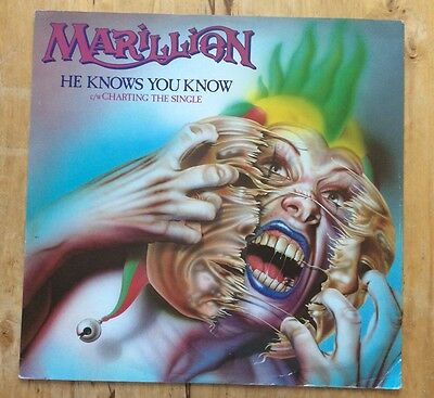 "MARILLION - He Knows You Know (12"")  (VG/VG)"