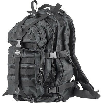New Valken Paintball Compact Tactical Backpack Gear Equipment Carry Bag - Black