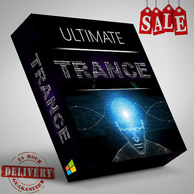 Ultimate Trance Producers Pack Over 4GB of WAV Bass Synth Lead Loops Samples