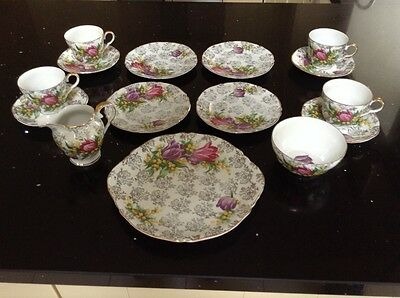 Imperial China - 4 PERSON TEA SET - Highly Collectable - 22ct Gold