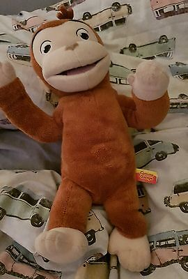 Curious george soft toy