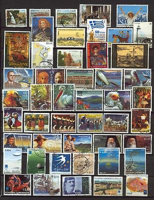 Greece Griechenland USED Stamps Lot 05