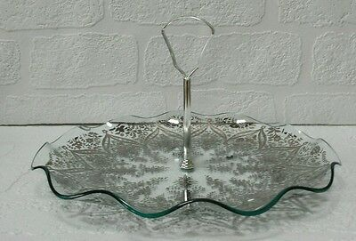 Collectable Glass Vintage Cake Stand