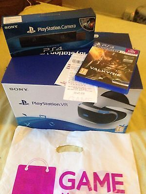 Sony Playstation VR Bundle / PS4 VR With Camera And Eve Valkyrie Game