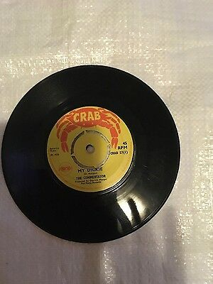 "Vinyl 7"" reggae record My Dickie /the Commentator-  Brixton Hop /the Kuraas"