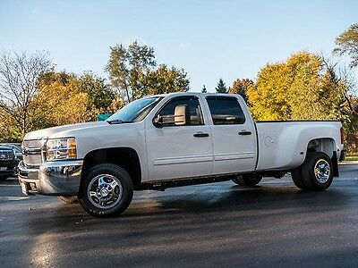 2009 Chevrolet Silverado 1500 LT Crew Cab Pickup 4-Door 2009 Chevrolet Silverado 3500HD DRW LT Pickup 6.6L Turbo Diesel 6-Speed Auto