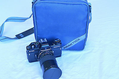 Praktica B100 Electronic 35 mm Camera with Carl Zeiss Lens and Soft Case (CA-14)