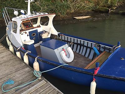 20Ft Clasic Wooden Fishing Boat
