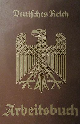 1935 german workers book + extra document