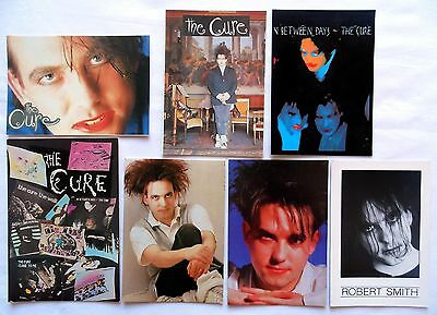 THE CURE POSTCARDS 8 x Vintage The Cure Postcards * ROBERT SMITH *