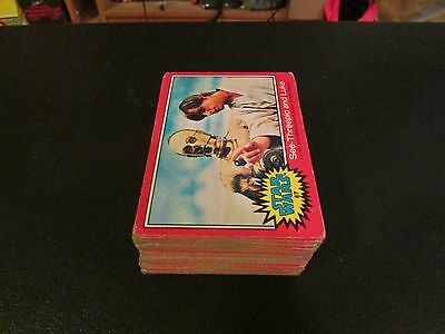 1977 Topps Star Wars Series 2 Complete Trading Card Set (66 Card Lot) Rough