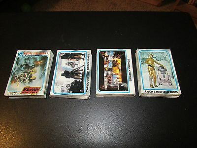 1980 Topps Empire Strikes Back Series 2 Complete Trading Card Set (132 Card Lot)