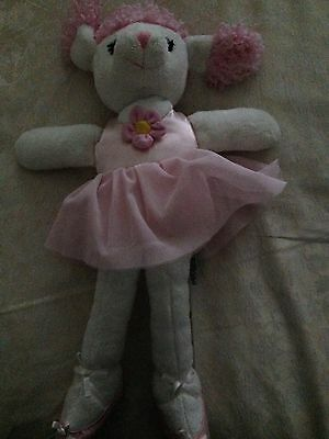 Russ Ballerina Poodle Soft Toy