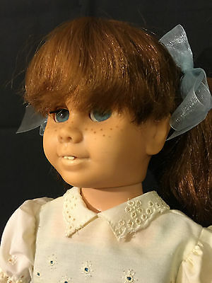 Chatty Cathy Doll 60's Vtg.mute Htf Red Hair & Pigtail Mark Mattel & Can. Pat.