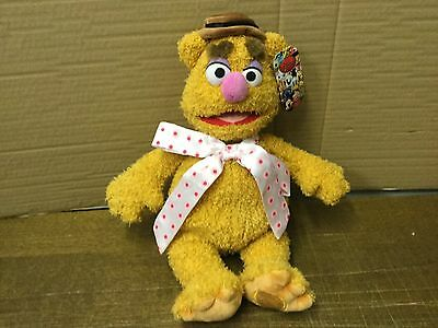 """Authentic Disney Store Muppet Fozzie Bear Plush Toy 17"""" Large With Tags"""