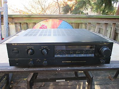 Vintage Nakamichi TA-2A Stasis Stereo High Definition Tuner Amplifier