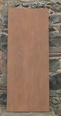 One Antique Large Mahogany Wood Board
