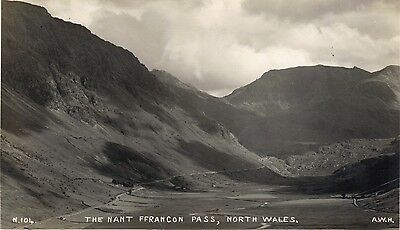 Postcard of The Nant Ffrancon Pass, North Wales