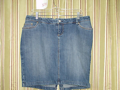 NWT Old Navy Size S Stretch Maternity Jean Skirt   208-2657