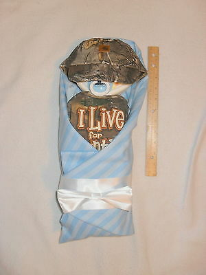 Baby CAMO/Hunting Diaper Baby-Adorable Baby Shower Gift Or Centerpiece!!!