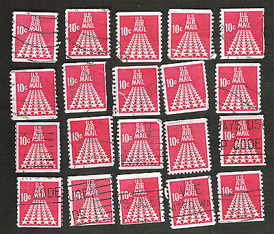 us stamps air mail 20 used C73 #535