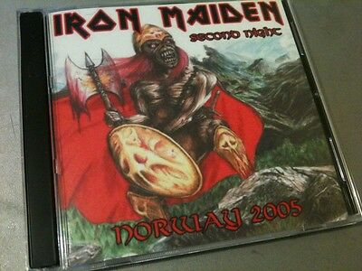 Iron Maiden Double CD Oslo Norway The Early Days Tour 2005