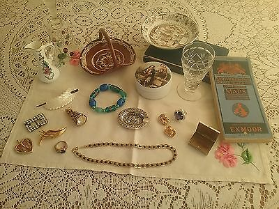 Mixed Lot Of Vintage Bits & Bobs/jewellery.