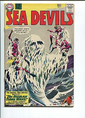 Sea Devils #7  7.5  Vf-   Cool Cover!  1 Owner!  Nice Pages!  Take A Look