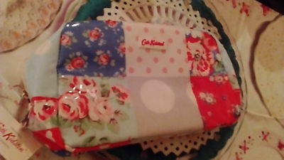 Cath Kidston ditsy floral patchwork large make up bag / toiletry bag - BNWT