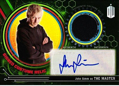 Doctor Who Extraterrestrial Encounters Autograph Costume EEARC-JS The Master