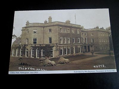 Postcard - Clifton Hall Nottingham c1913 - Notts Federation of Women's Institute