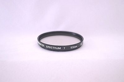 Promaster Spectrum 7 52 mm Skylight 1A Screw-In Filter  Made in Japan (R-19)